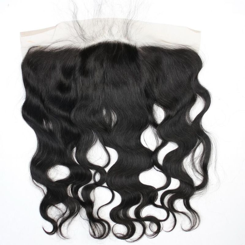 Pre Plucked Lace Frontal 13x4 Virgin Hair Body Wave Lace Top Closure Ear to Ear